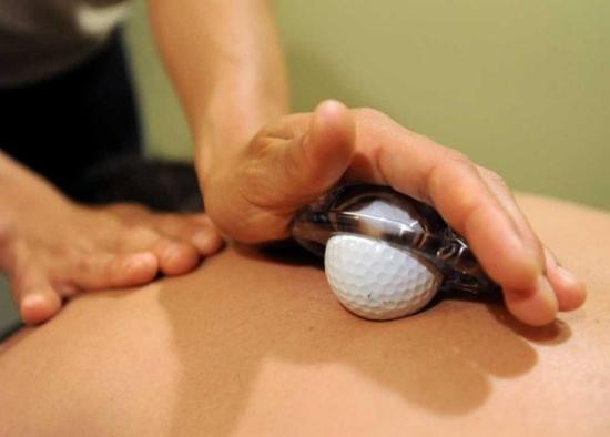 golf ball massages