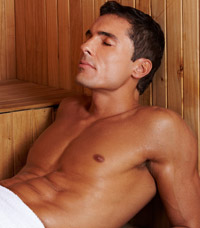 sauna for men