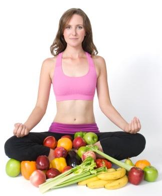 Yoga--eating